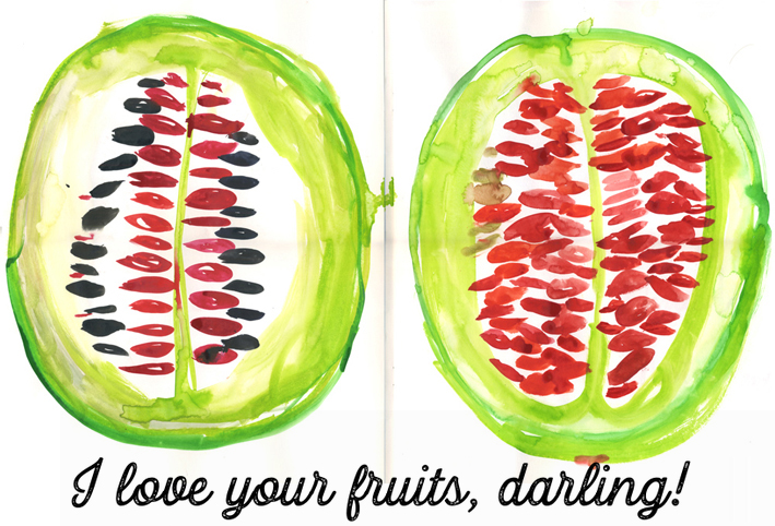fruit-illustration-kitchen-poster-pfaller
