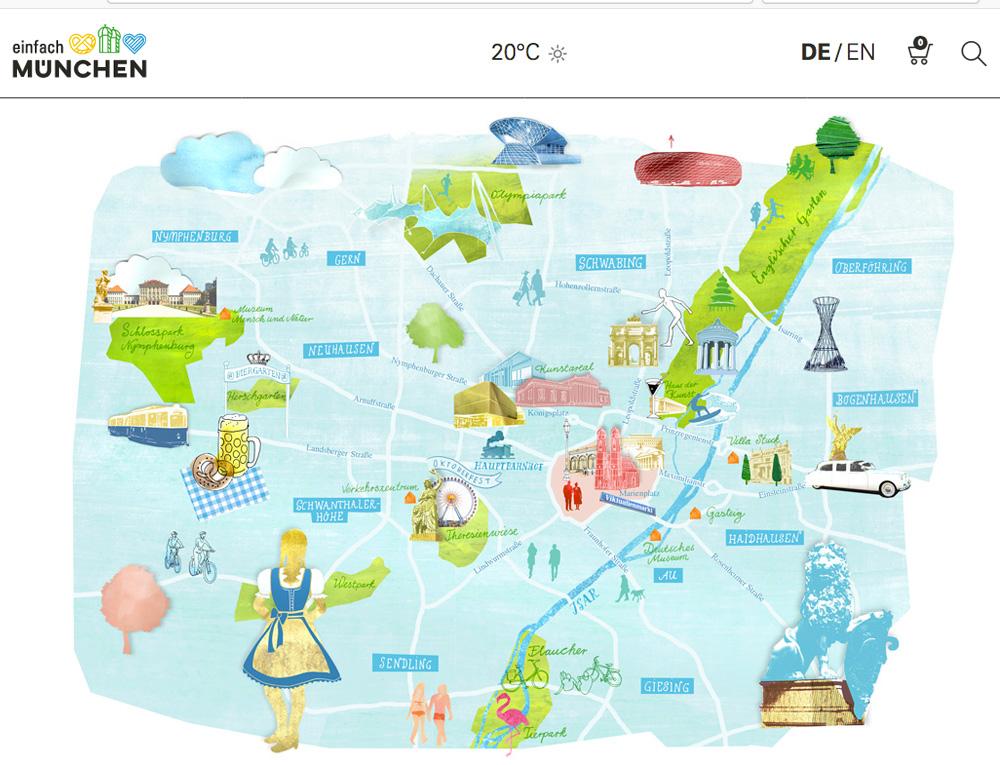 Julia Pfaller » Munich Maps